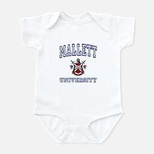 MALLETT University Infant Bodysuit