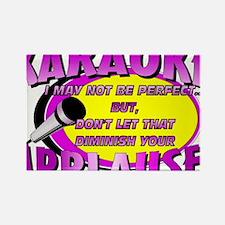 KARAOKE!  Applause Rectangle Magnet