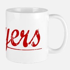 Moyers, Vintage Red Mug