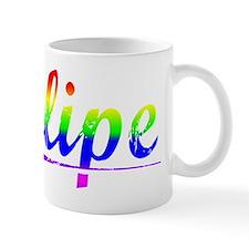 Felipe, Rainbow, Small Mug