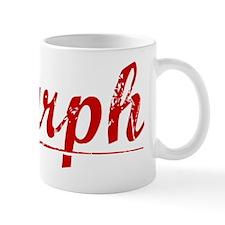 Murph, Vintage Red Mug