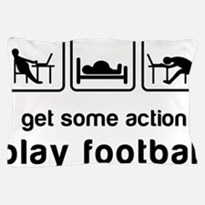 Play football Pillow Case