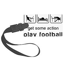 Play football Luggage Tag