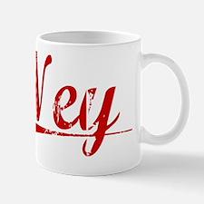 Ney, Vintage Red Mug