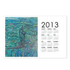 2013 Jade Steed Calendar Postcards (Package of 8)