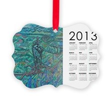 2013 Jade Steed Calendar Ornament