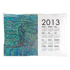 2013 Jade Steed Calendar Pillow Case