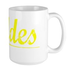 Geddes, Yellow Mug