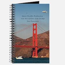 SF_5X7_Card_EndeavourOverGoldenGateBridge Journal