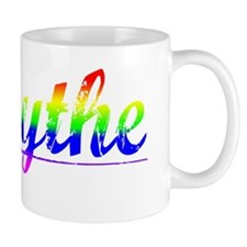 Forsythe, Rainbow, Mug