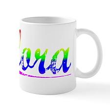 Flora, Rainbow, Small Mug