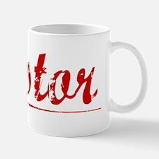 Nestor, Vintage Red Mug