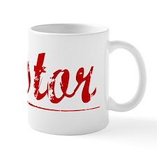 Nestor, Vintage Red Small Mug