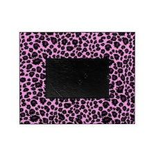 Purple Leopard Print Picture Frame