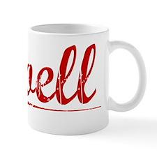 Noell, Vintage Red Mug