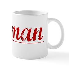 Norman, Vintage Red Mug