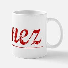 Nunez, Vintage Red Mug