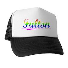Fulton, Rainbow, Trucker Hat