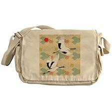 Soaring Cranes Messenger Bag