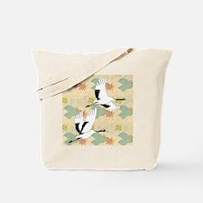 Soaring Cranes Tote Bag