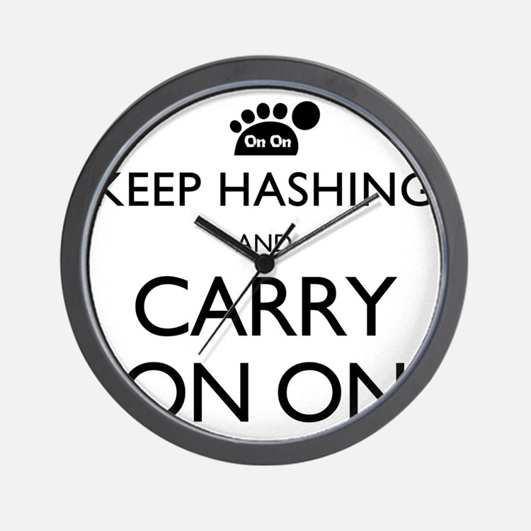 Keep Hashing And Carry On On Wall Clock