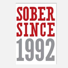 Sober Since 1992 Postcards (Package of 8)