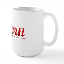 Osborn, Vintage Red Mug