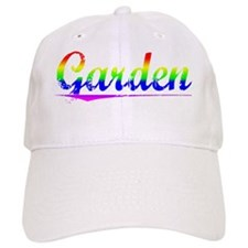 Garden, Rainbow, Baseball Cap
