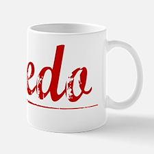 Oviedo, Vintage Red Mug