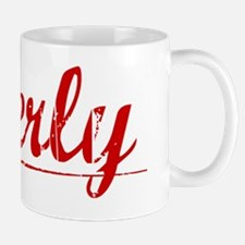 Overly, Vintage Red Mug