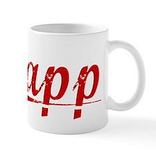 Papp, Vintage Red Mug