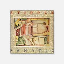 """STIPPLE FANATIC Square Sticker 3"""" x 3"""""""