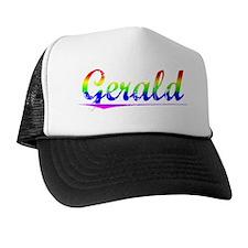 Gerald, Rainbow, Trucker Hat