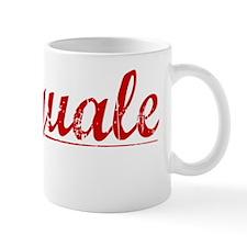 Pasquale, Vintage Red Mug