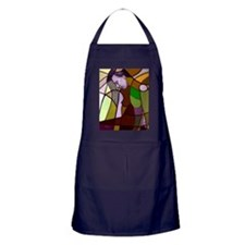 She wore flowers in her hair Apron (dark)