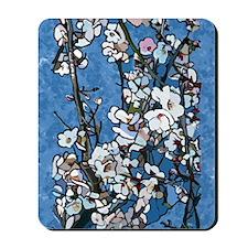 Almond Blossoms Mousepad
