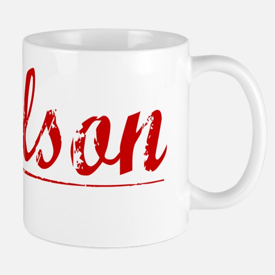 Paulson, Vintage Red Mug