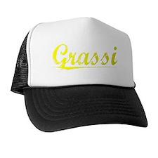 Grassi, Yellow Trucker Hat