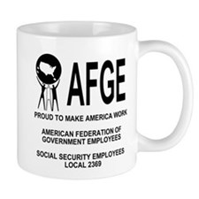 AFGE Coffee Cup 3 For AFGE Local 2369