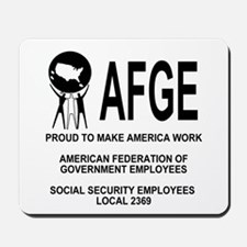 AFGE Local 2369<BR>Mousepad 3