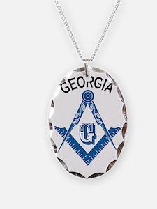 Georgia Freemason Necklace