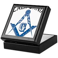 California Freemason Keepsake Box