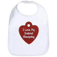 Love My Sheepdog Bib