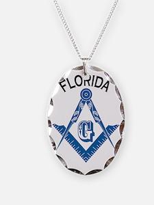 Florida Freemason Necklace