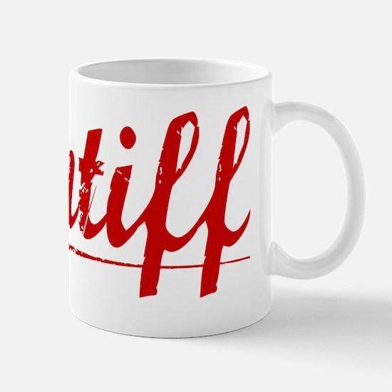 Pontiff, Vintage Red Mug