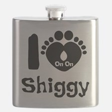 I Heart Shiggy Flask