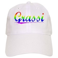 Grassi, Rainbow, Baseball Cap
