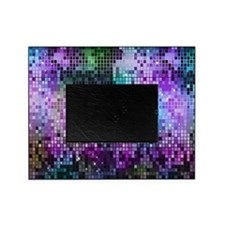 Disco Mirrors in Purple and Green Picture Frame