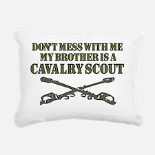 Cavalry Scout Rectangular Canvas Pillow