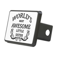 World's Most Awesome Little Sister Hitch Cover